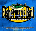 Fisherman's Bait - A Bass Challenge title screenshot