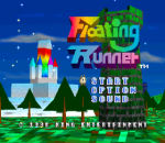Floating Runner - Quest for the 7 Crystals title screenshot