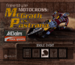 Freestyle Motocross - McGrath vs. Pastrana title screenshot