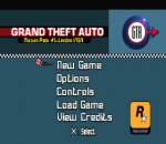 Grand Theft Auto - London 1969 (Mission Pack #1) title screenshot