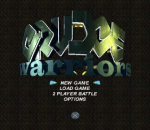 Grudge Warriors title screenshot