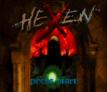 Hexen - Beyond Heretic title screenshot