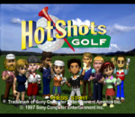 Hot Shots Golf - Everybody's Golf title screenshot