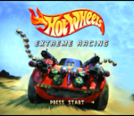 Hot Wheels - Extreme Racing title screenshot