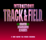 International Track & Field title screenshot