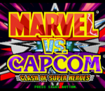 Marvel vs. Capcom - Clash of the Super Heroes title screenshot