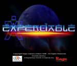 Expendable - Millenium Soldier title screenshot