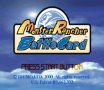 Monster Rancher Battle Card - Episode II title screenshot