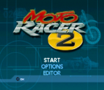 Moto Racer 2 title screenshot