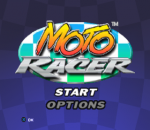 Moto Racer title screenshot