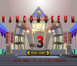 Namco Museum Vol. 3 title screenshot