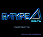 R-Type Delta title screenshot
