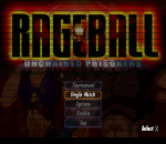 Rageball title screenshot