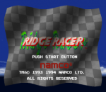 Ridge Racer title screenshot