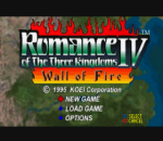 Romance of the Three Kingdoms IV - Wall of Fire title screenshot