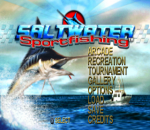 Saltwater Sportfishing title screenshot