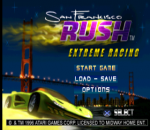 San Francisco Rush - Extreme Racing title screenshot