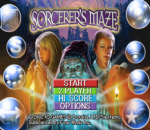 Sorcerer's Maze title screenshot