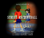 Street Racquetball title screenshot