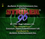 Striker 96 title screenshot