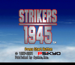 Strikers 1945 title screenshot