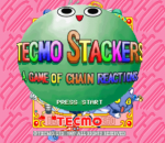 Tecmo Stackers title screenshot
