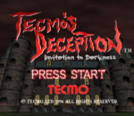 Tecmo's Deception - Invitation to Darkness title screenshot