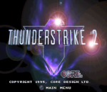 Thunder Strike 2 title screenshot
