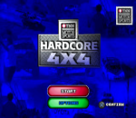 TNN Motor Sports - Hardcore 4x4 title screenshot