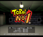 Tobal No.1 title screenshot
