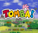 Tomba ! title screenshot