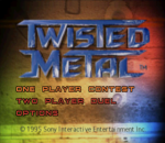 Twisted Metal title screenshot