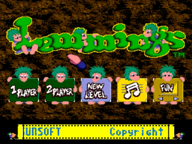 lemming game online