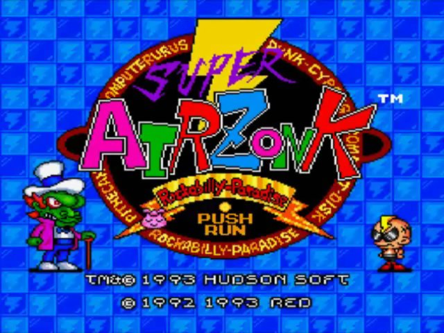 Play Super Air Zonk NEC TurboGrafx 16 CD online | Play retro games ...