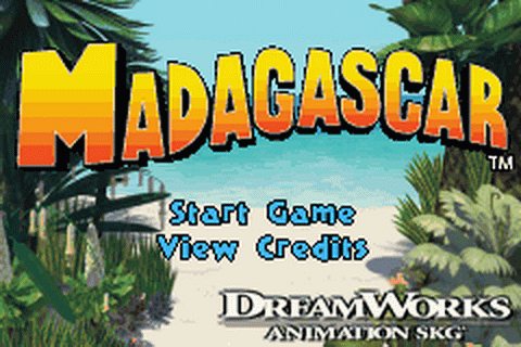 Play Madagascar Nintendo Game Boy Advance online Play retro