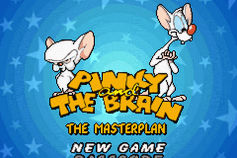 Play pinky and the brain the masterplan nintendo game boy advance pinky and the brain the masterplan title screenshot thecheapjerseys Images