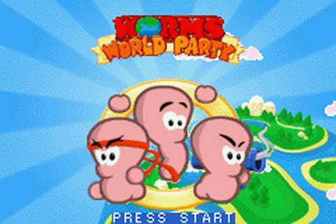 play worms online